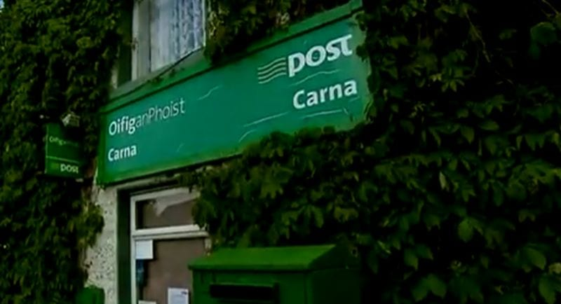 Shock Post Office closure rattles local Carna Community