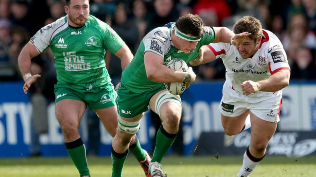 CONNACHT RUGBY: EOGHAN MASTERSON EXTENDS CONTRACT