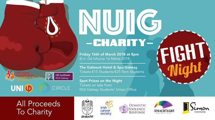 BOXING: NUIG HOSTS CHARITY FIGHT NIGHT
