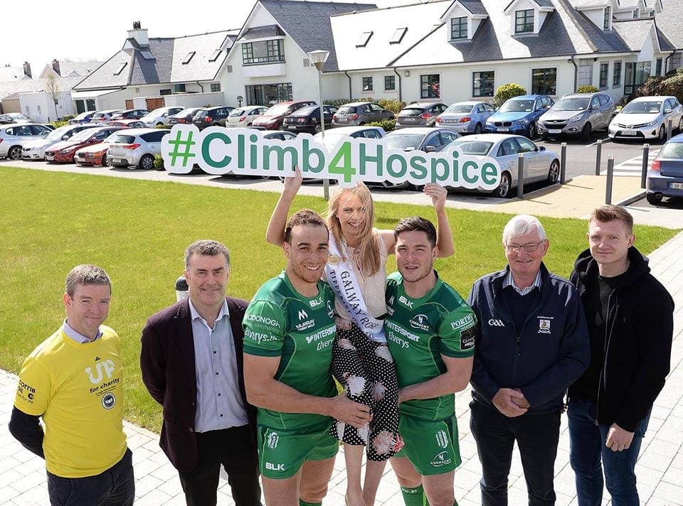 Swapping Heels for Hiking Boots to climb Croagh Patrick in aid of Galway Hospice
