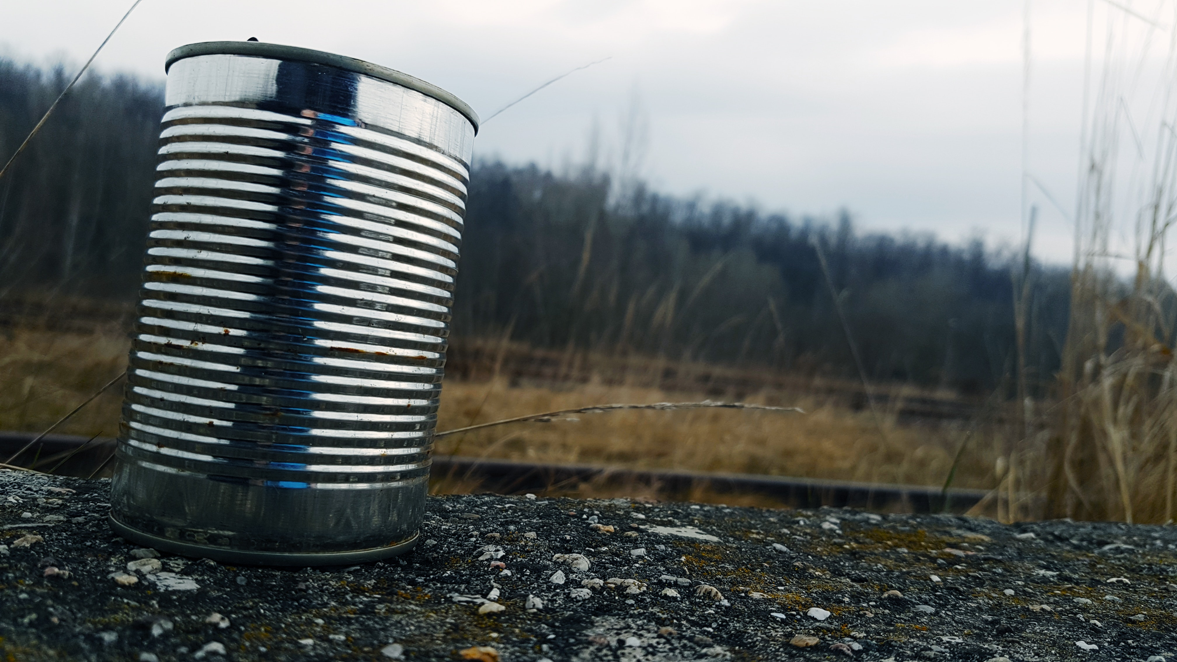 Drunk burglar in Bushypark made a weapon out of a sharpened tin can