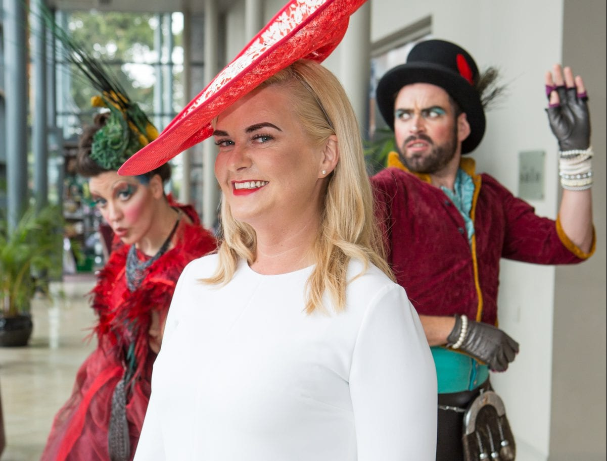 Photos:  Macnas pop into  The Connacht Hotel for pre-Races Bubble and Brunch