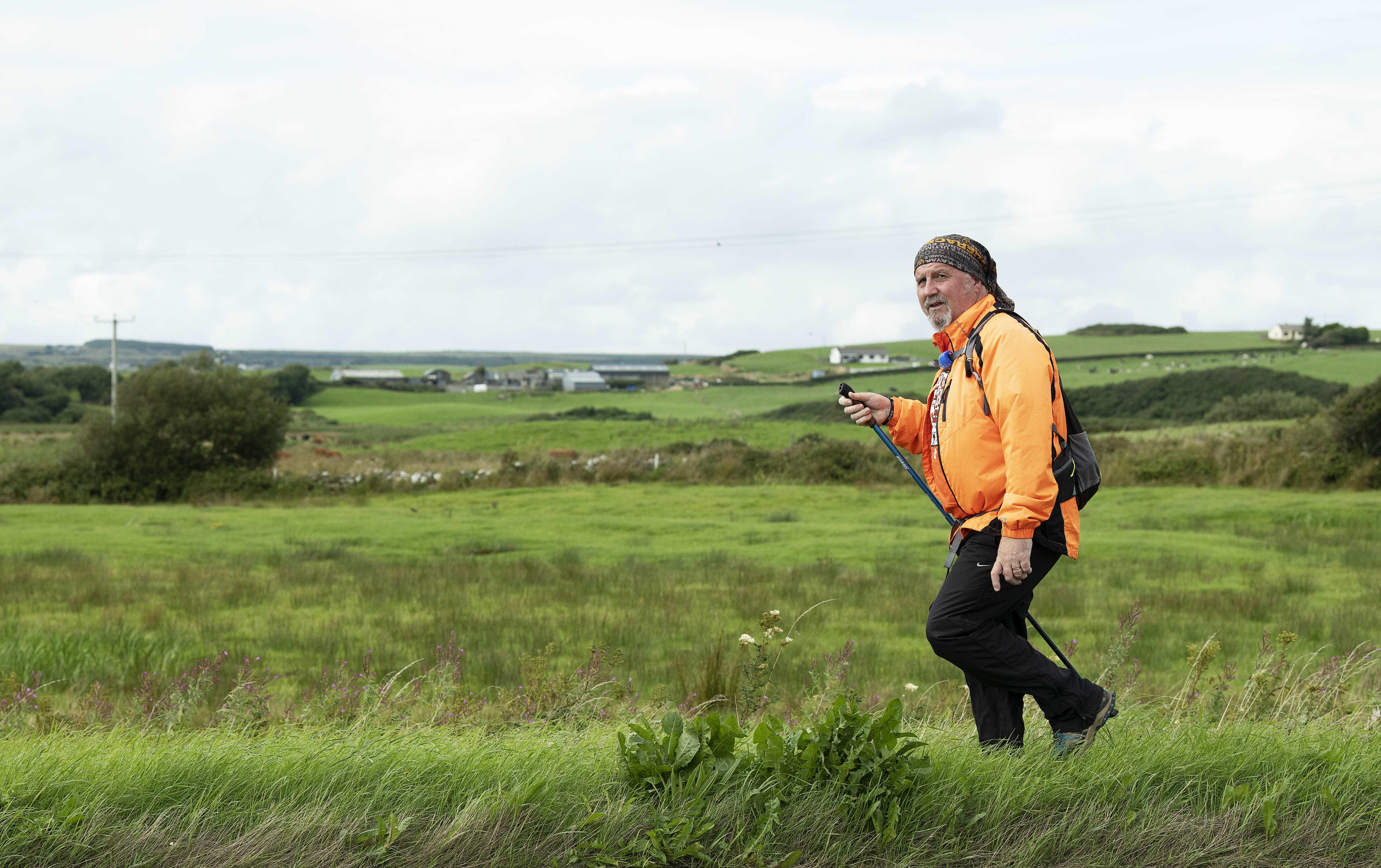 """Former OT Participant is hopeful his """"Bay to Bay Walk"""" has raised 20k for charity"""