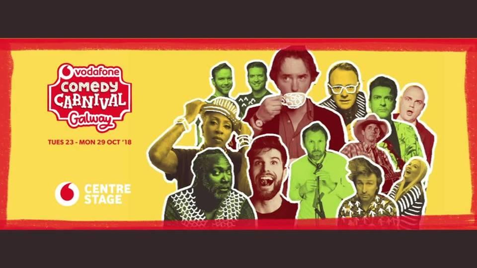 Líon na Fuirseoirí a bheas ag an Vodafone Carnival Comedy ainmnithe