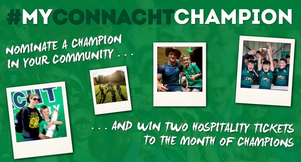 RUGBY: My Connacht Champion Competition