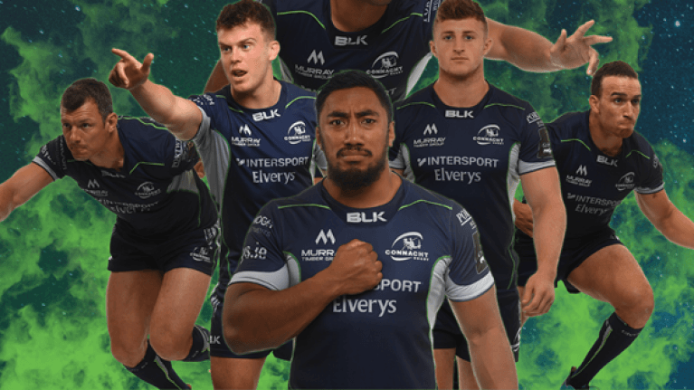 CONNACHT RUGBY: New Alternative Jersey for 2018-19