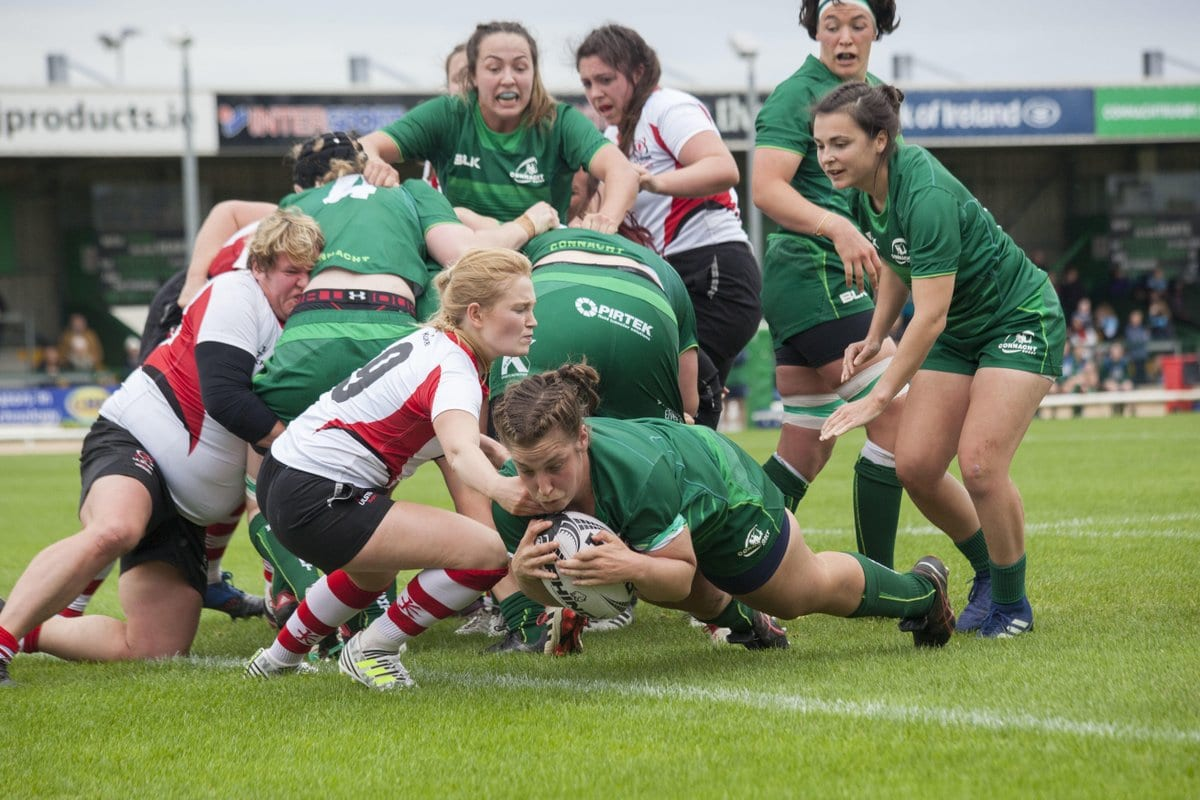 CONNACHT RUGBY: Women Finish Interpro with Worthy Win Over Ulster