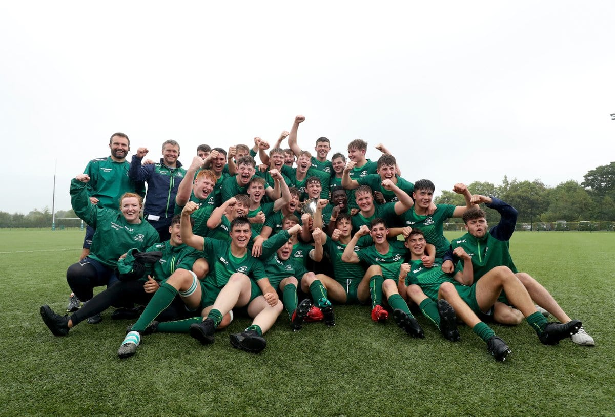 CONNACHT RUGBY: Under 18 Teams to Be Recognised