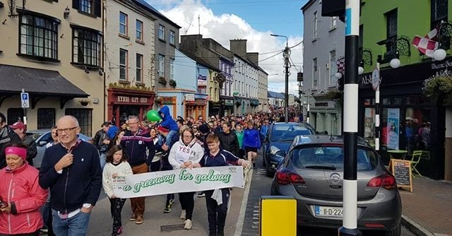 Rally in support of Quiet Man greenway draws thousands in Tuam