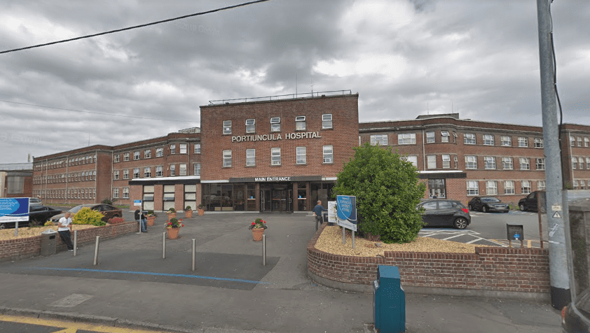 Portiuncula Hospital 'extremely busy' today with many ill patients awaiting a bed