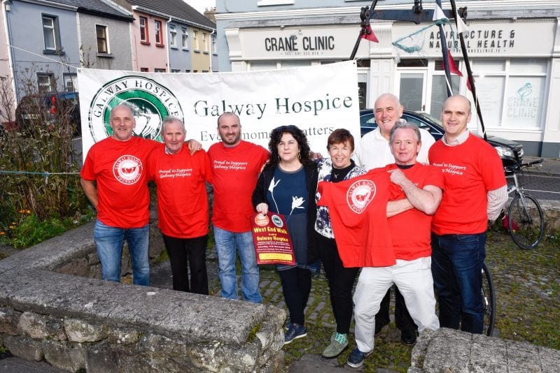 Galway's Westend charity walk will raise funds for Galway Hospice