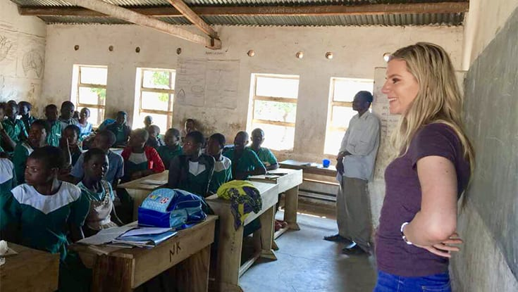 Galway student's extraordinary campaign to build a school in Malawi