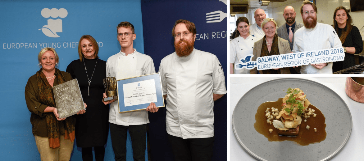 Galway hosts final for best young chef in Europe award