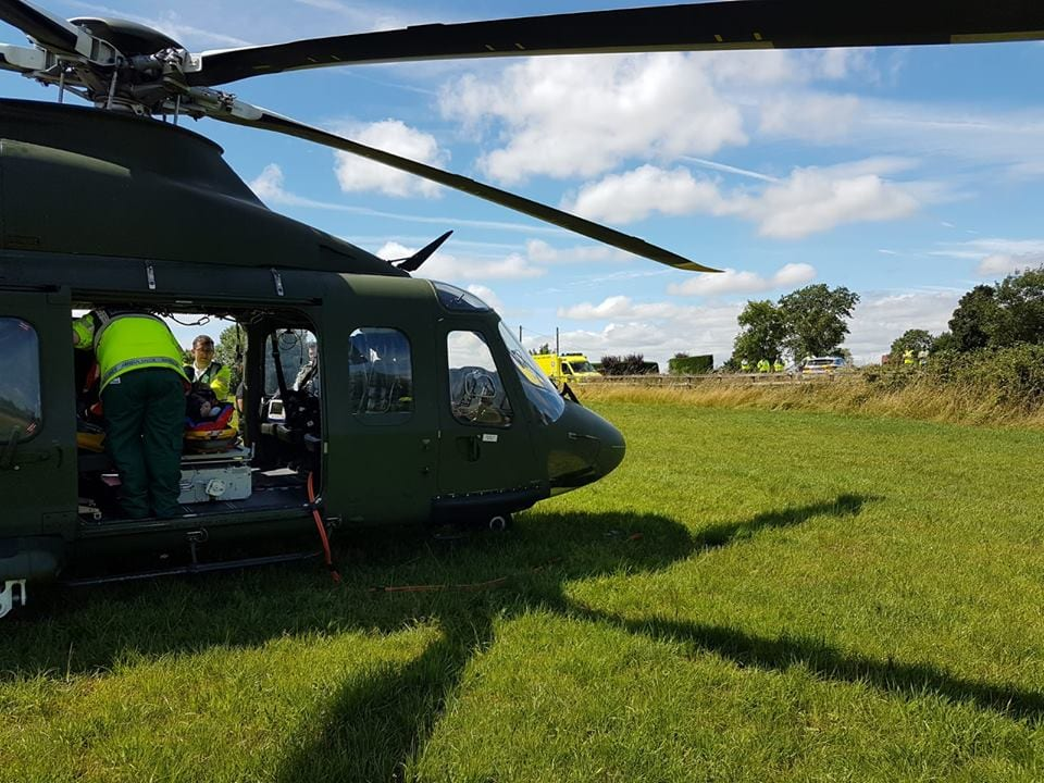 Tourist airlifted to UHG after fall at the Cliffs of Moher