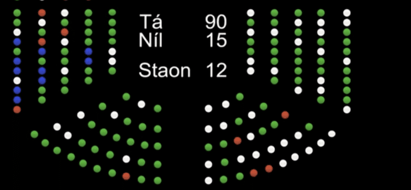 TDs vote to legalise abortion up to 12 weeks in historic vote last night
