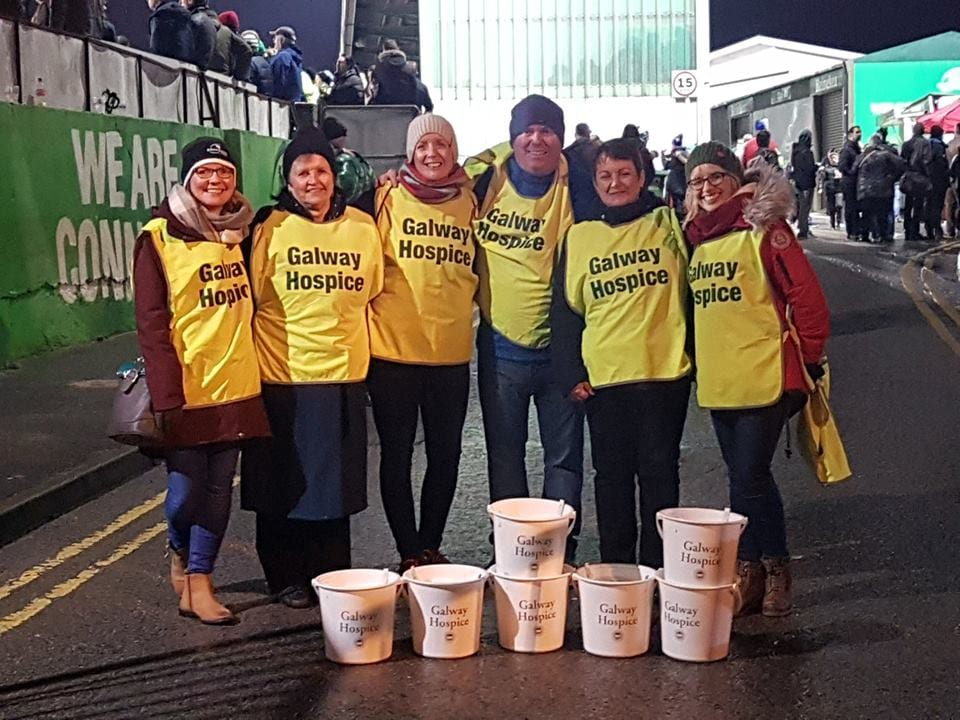 Sportsground collection raises over €2,000 for Galway Hospice