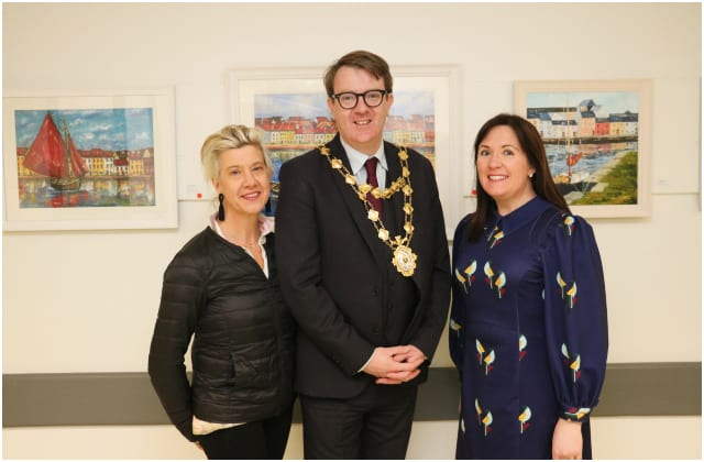 Staff at Galway hospitals show their creative side with art exhibition