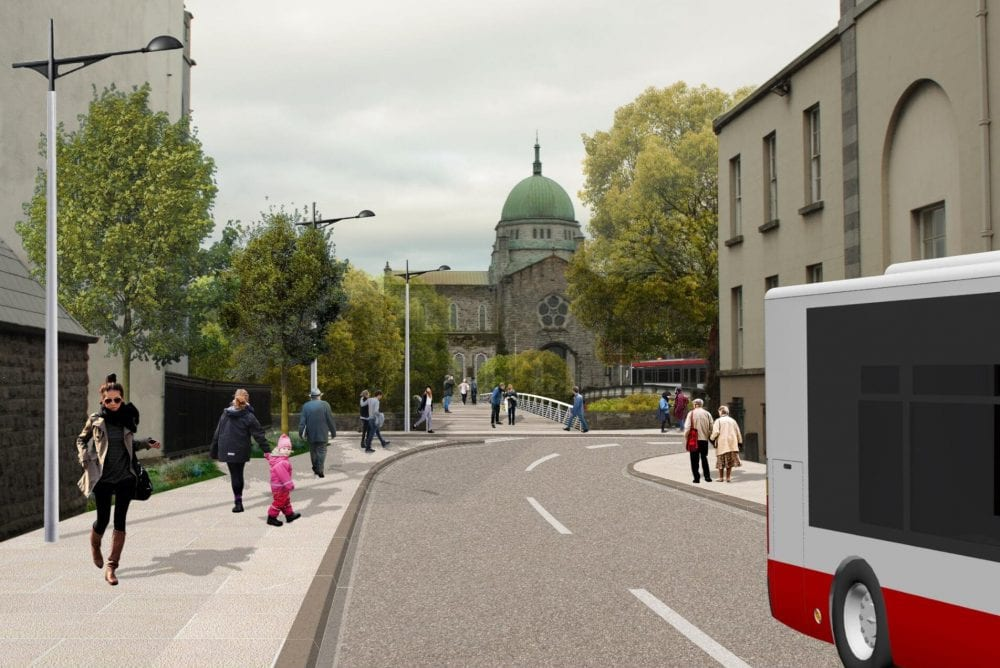 New pedestrian bridge next to Salmon Weir bridge secures €7 million backing