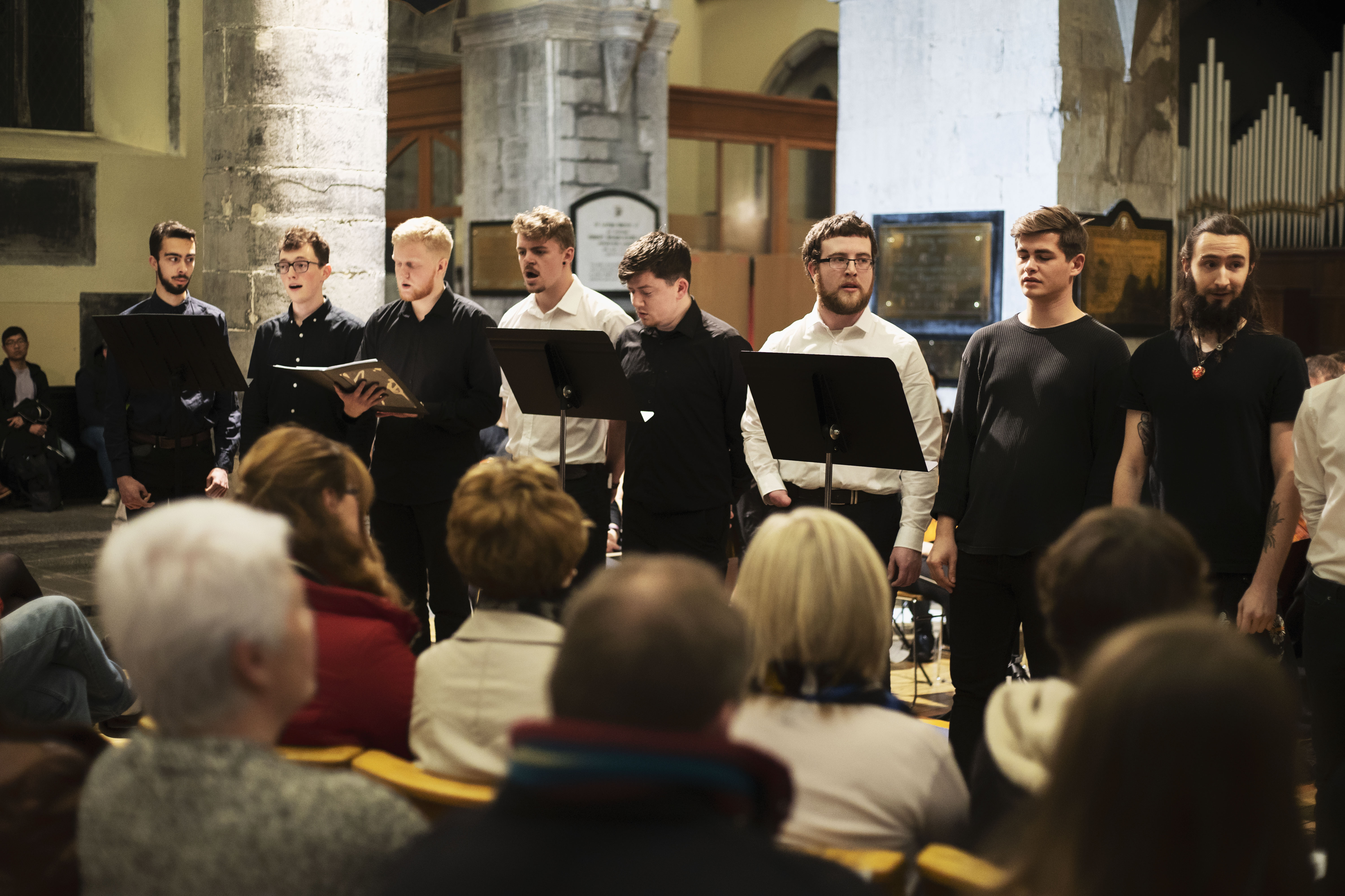 NUI Galway all-male choir to compete on world stage