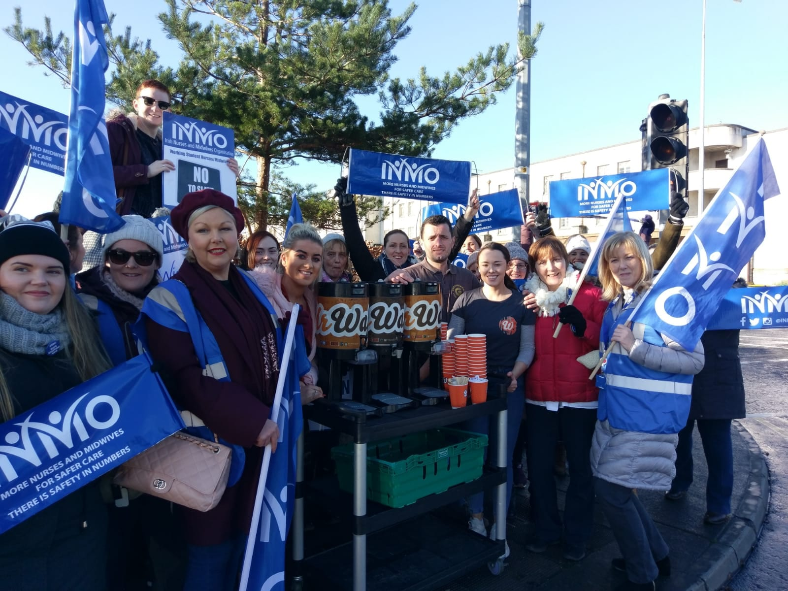 Good news: Galway supports striking nurses, UHG less crowded