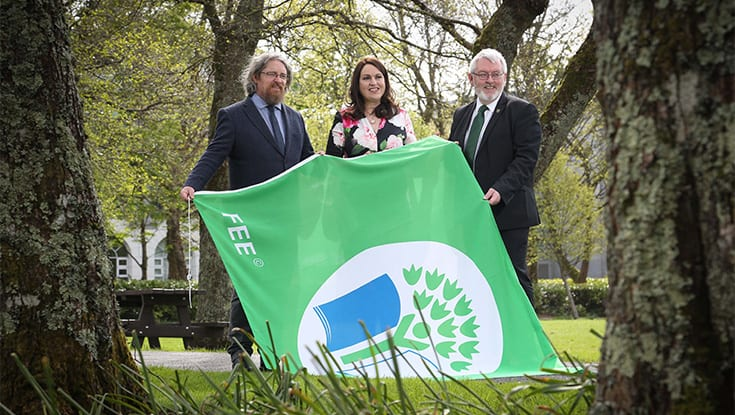 NUIG awarded Green Flag environmental status