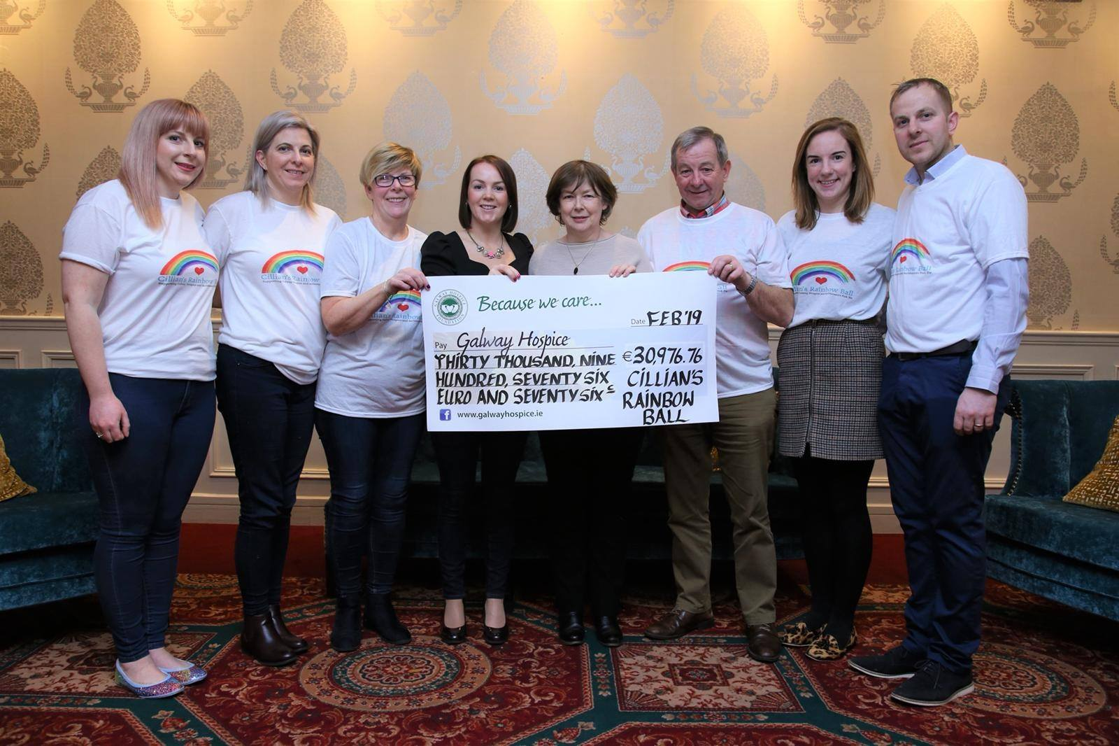 Memorial ball for young Cillian Cooney raises over €30,000 for Galway Hospice