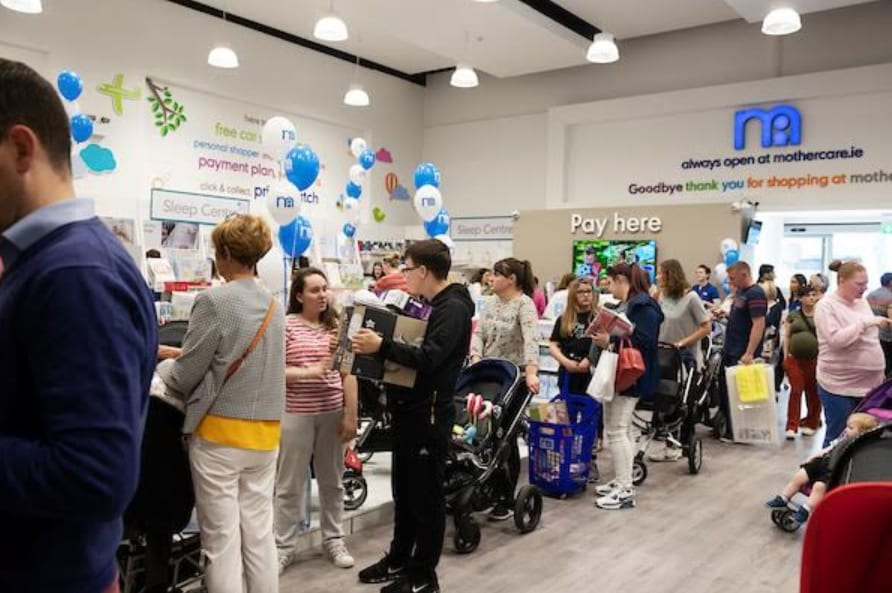 Mothercare Ireland launches biggest ever clothes, nursery, and travel sale