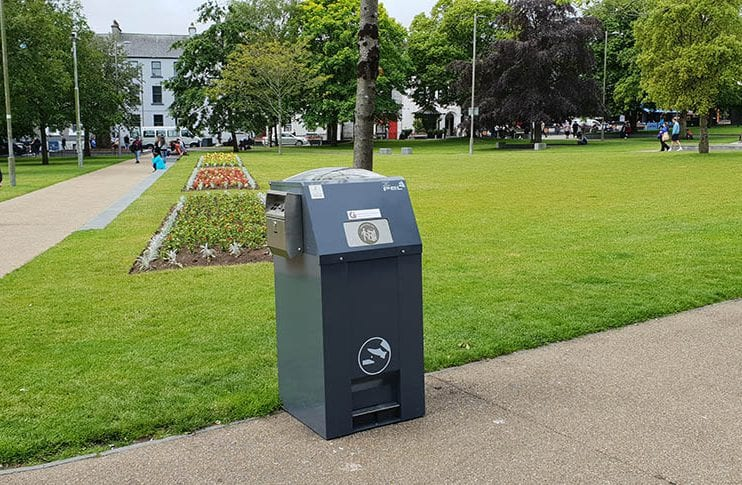 Fifty solar powered compactor bins installed in Galway city