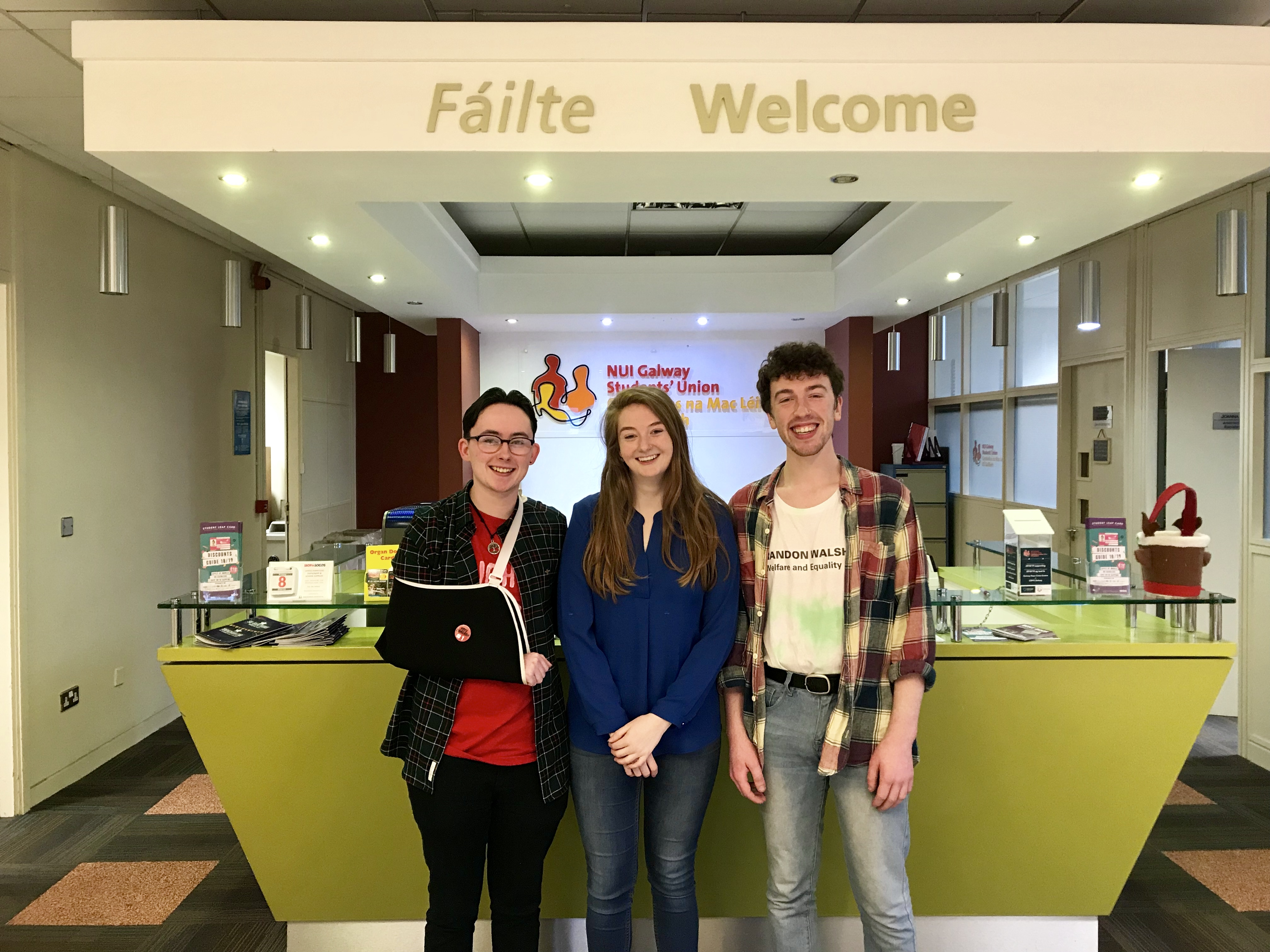 New Students' Union President takes office at NUI Galway