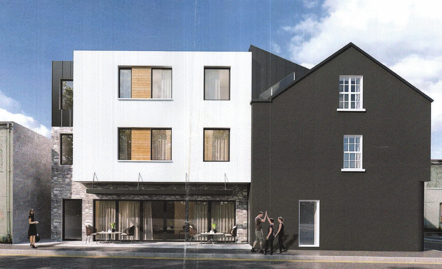 New city centre restaurant and guesthouse in the works