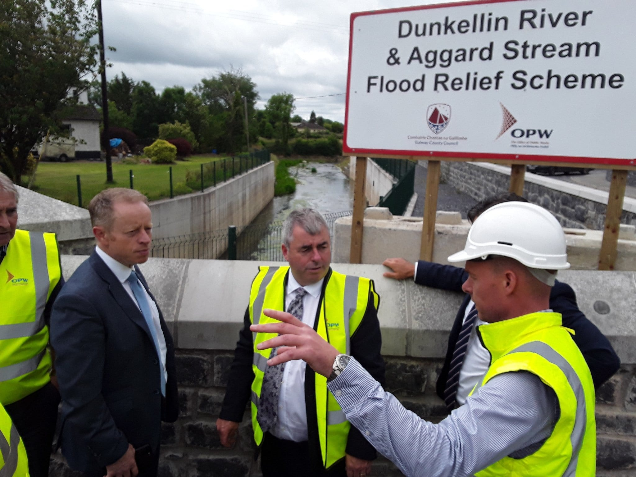 Minister hears flooding and coastal erosion concerns from South Galway communities