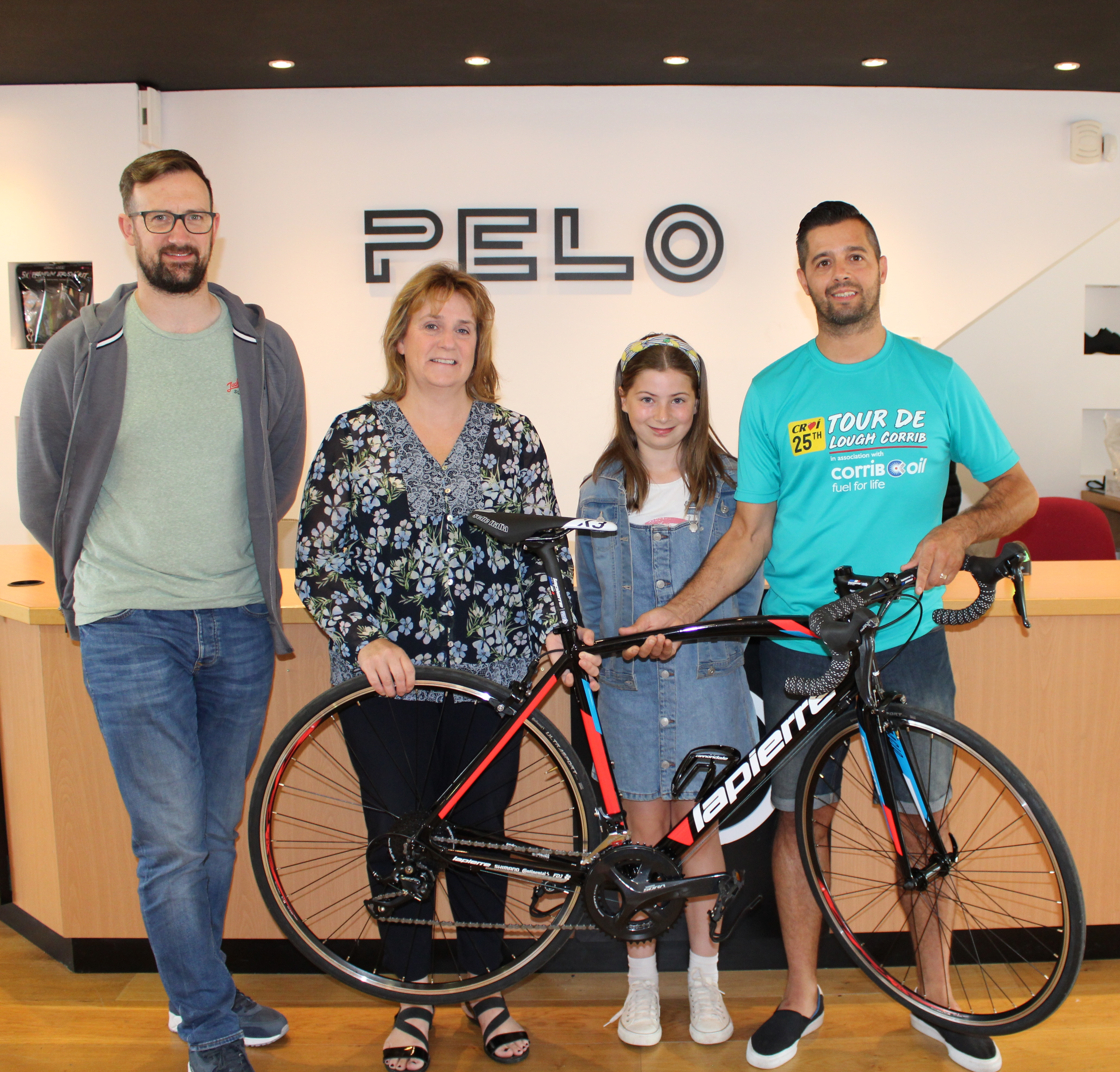 Croí Cycle Raffle Winner galway daily