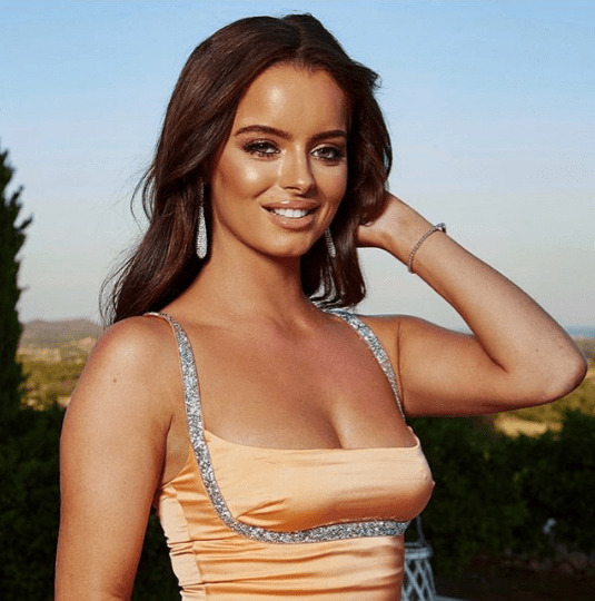 Love Island star Maura Higgins spotted in Galway