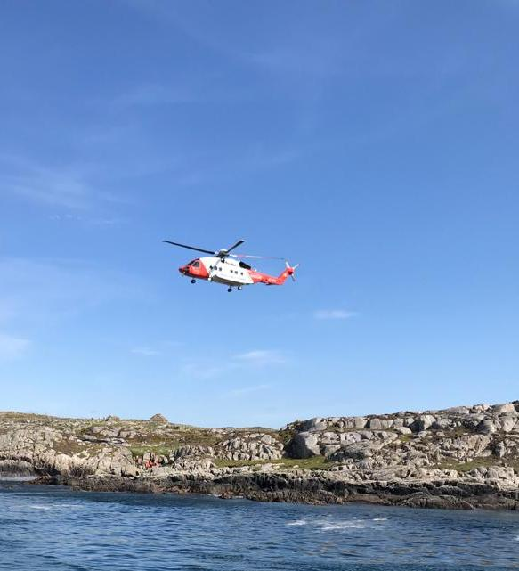 Clifden lifeboat rescue