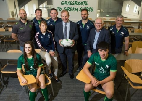 GMIT and Connacht Rugby unveil three year partnership