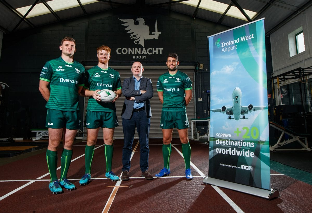 Connacht Rugby forms partnership with Knock Airport