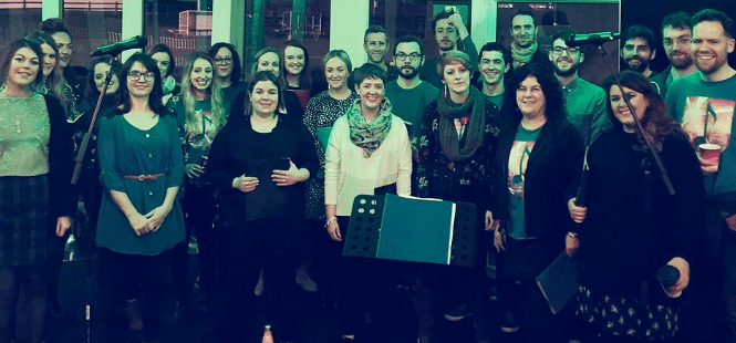 Galway Daily arts culture Local a-capella choir kicking off Culture Night at the Palas