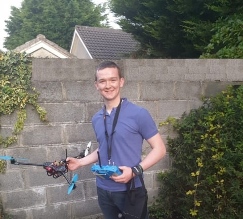 Galway Daily news GMIT student makes livestock monitoring drone