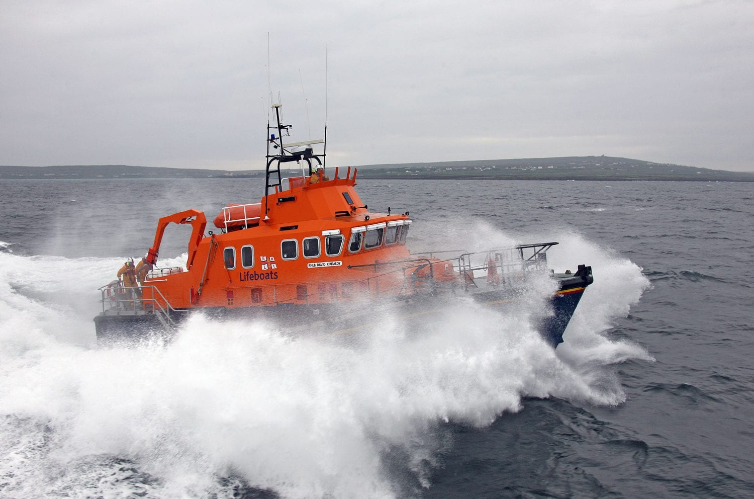 Aran Islands RNLI carry out two medical evacuations in one day