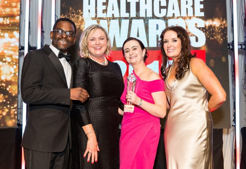 Croi heart & stroke charity scoops three national healthcare awards
