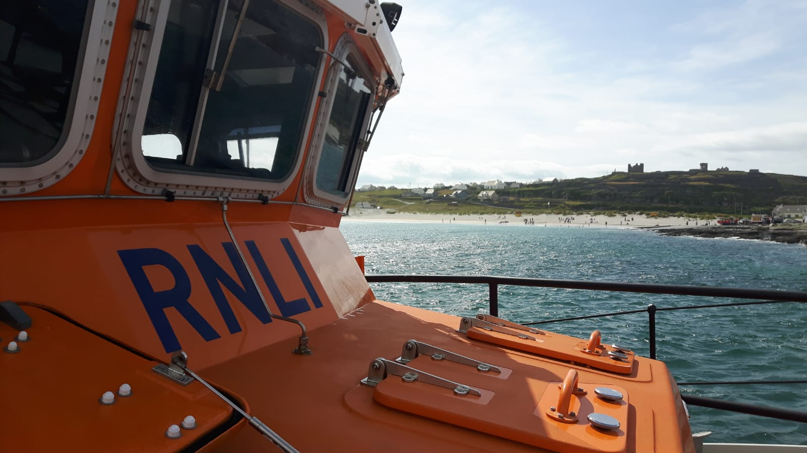 Aran Islands Lifeboat rescues three people stranded on a jet ski