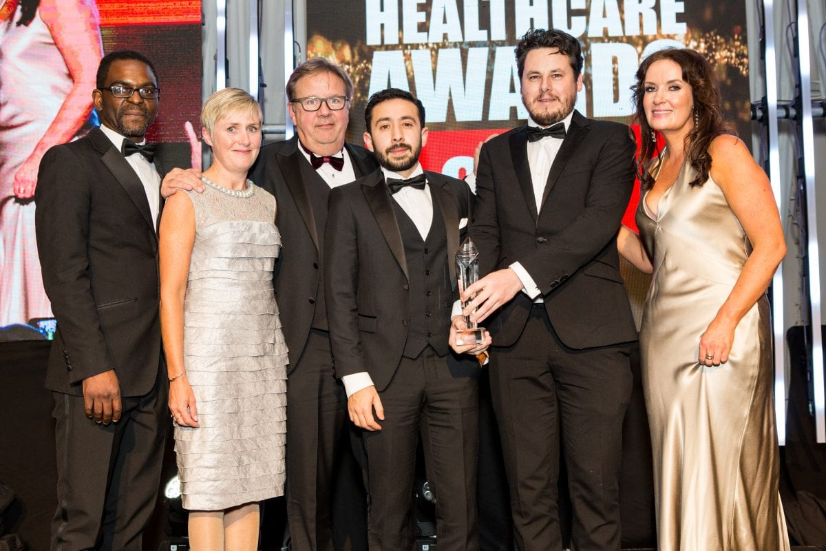 NUIG spin out company takes home two national healthcare awards