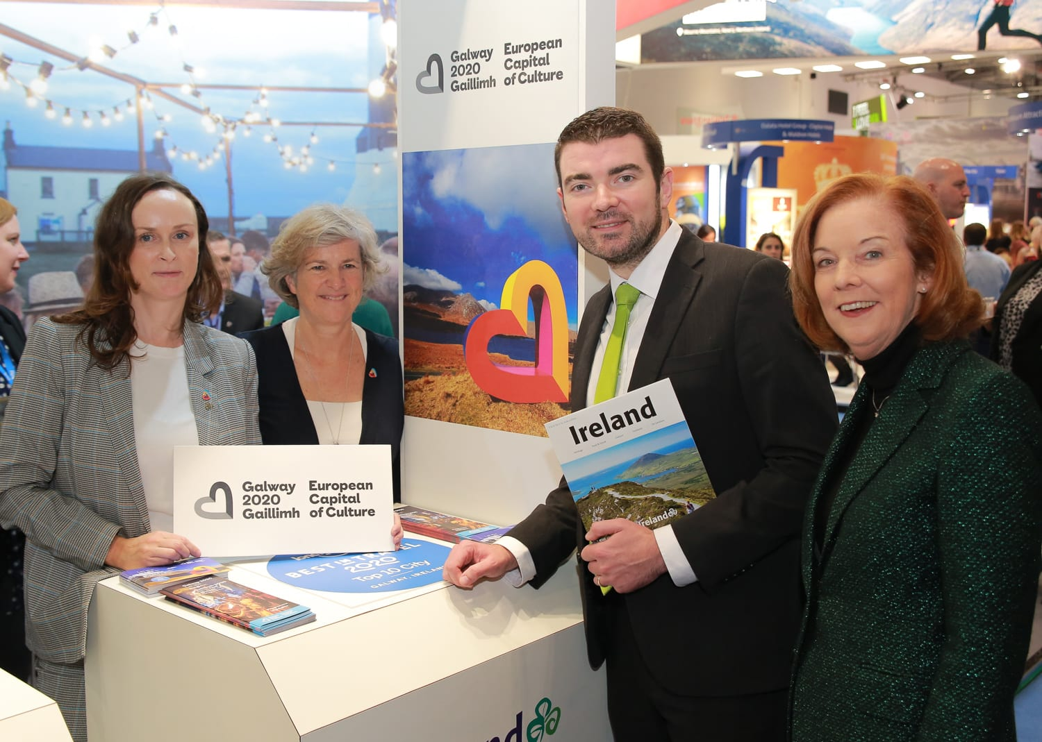 Galway tourism companies attend world's biggest travel fair in London
