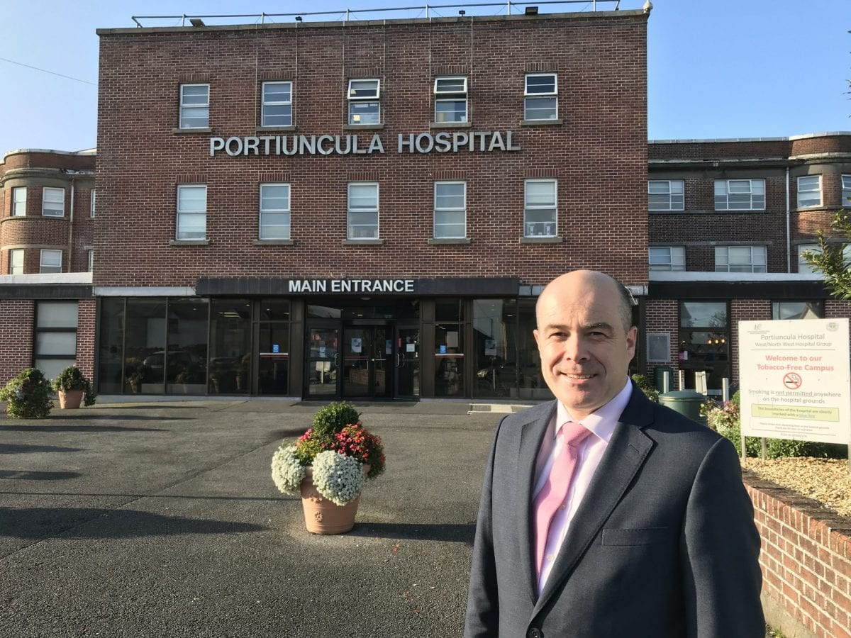 Minister urged to staff Portiuncula Hospital ward seven days a week