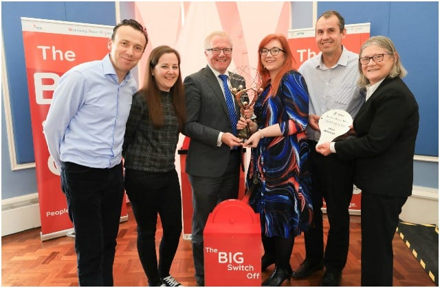 Galway Daily news UHG wins Big Switch off energy saving competition