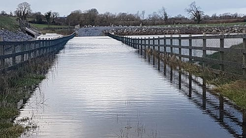 Galway Daily news Risk of further flooding as weather advisory issued