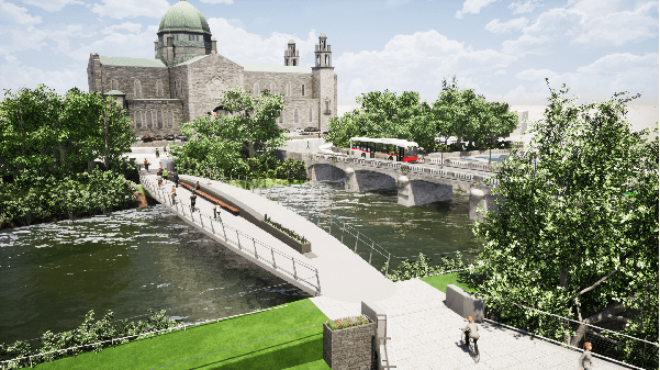 Galway Daily news Online information hub launched for planned Salmon Weir Pedestrian Bridge